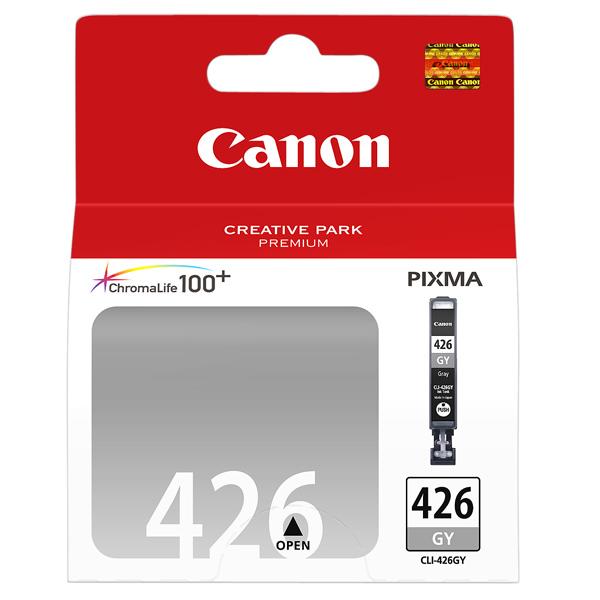 Картридж для струйного принтера Canon CLI-426 GY картридж canon cli 42lgy для pro 100 серый 835 фотографий