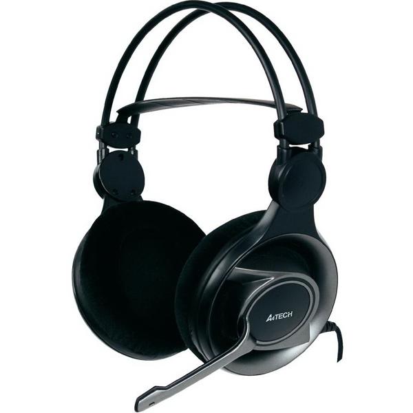 Игровые наушники A4Tech HS-100 микрофон a4tech mi 10