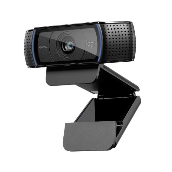 Logitech, Web-камера, C920 Black
