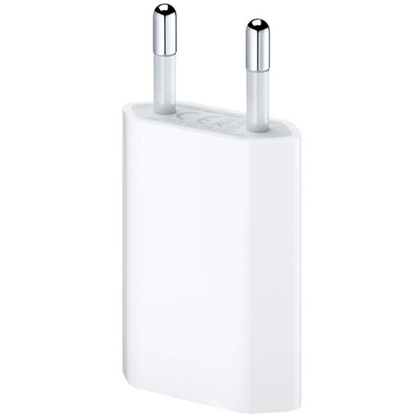 Сетевое зарядное устройство Apple USB мощностью 5 Вт (MD813ZM/A) сетевое зарядное устройство apple usb мощностью 12 вт md836zm a