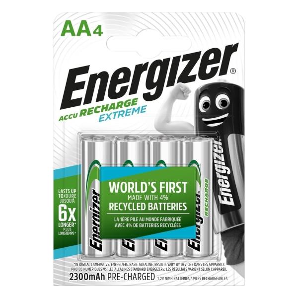 Аккумулятор Energizer AA-HR6 2300mAh 4шт з у для рации a23 24 2300 mah new