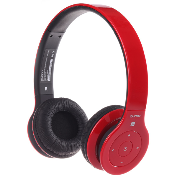 Купить Наушники Bluetooth Qumo Octava Red в каталоге интернет ... 6c23e307aba06