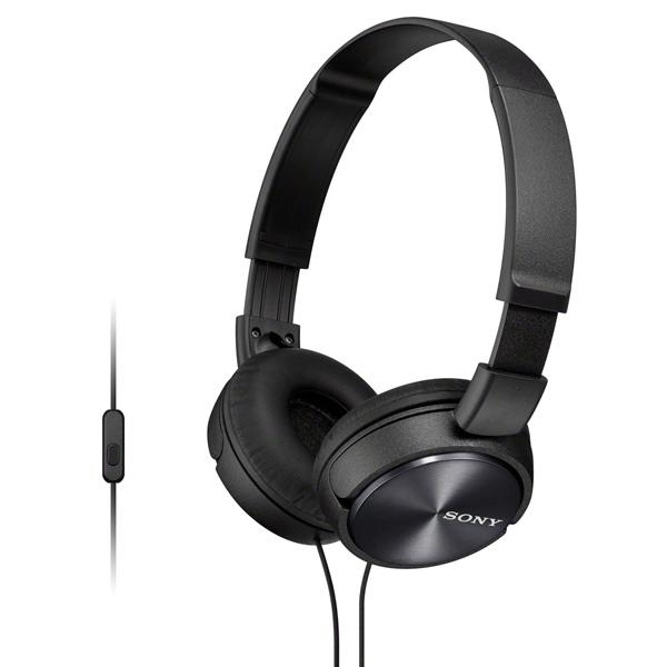 Наушники накладные Sony MDR-ZX310AP Black наушник sony mdr zx310ap черный