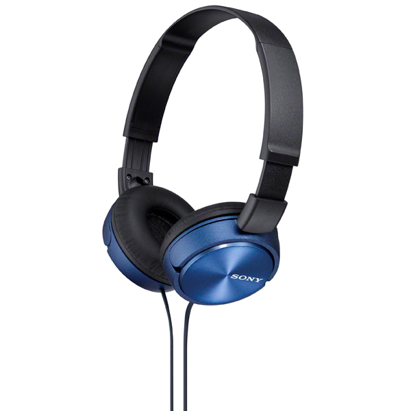 Наушники накладные Sony MDR-ZX310 Blue