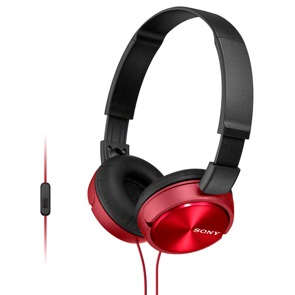 Наушники накладные Sony — MDR-ZX310AP Red