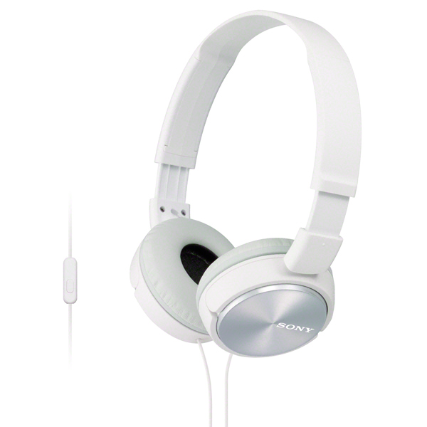 Наушники накладные Sony MDR-ZX310AP White гарнитура sony mdr zx310ap white