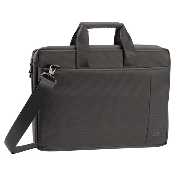 Кейс для ноутбука до 15 RIVACASE 8231 Grey кейс для ноутбука до 15 rivacase 8991 pu black 15 6