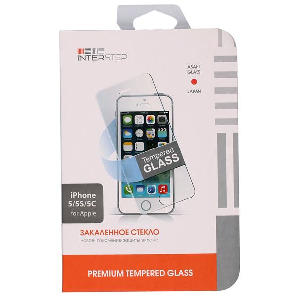 где купить Защитное стекло для iPhone InterStep для iPhone 5 дешево