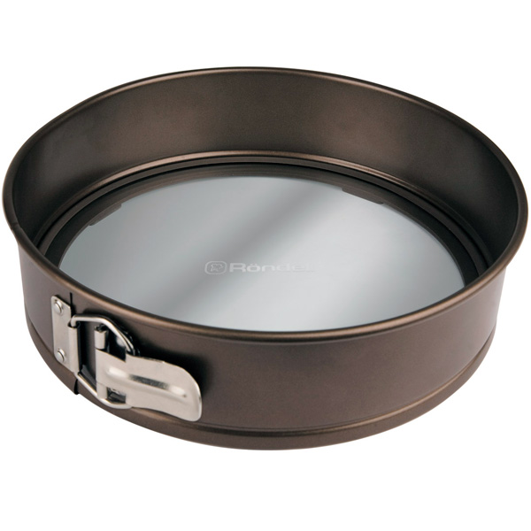Форма для выпекания (металл) Rondell Mocco&Latte RDF-442 26см сотейник с кр 26см mocco