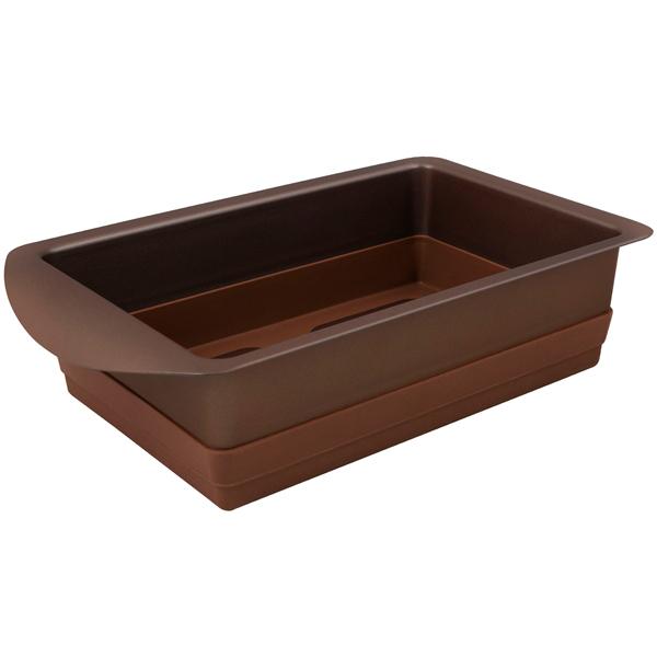 Форма для выпекания (металл) Rondell Mocco&Latte RDF-446 22х14см 606rd кисть кулинарная rondell mocco