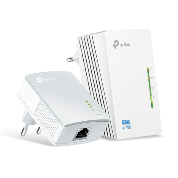 Powerline-адаптер TP-Link TL-WPA4220KIT(EU) wi fi роутер tp link td w8961n