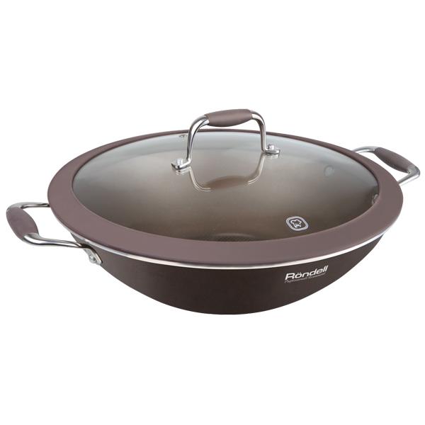 Сковорода Rondell Mocco&Latte RDA-552 32см крышка rondell mocco диаметр 28 см