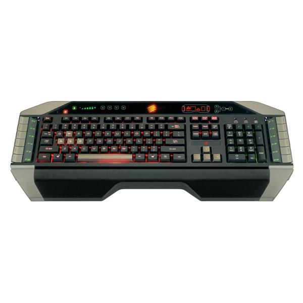 Игровая клавиатура Mad Catz V. 7 red mad зомфри блог глава 3