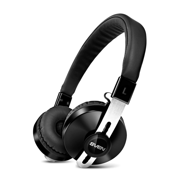 Компьютерная гарнитура Sven AP-B350MV, черный (Bluetooth)