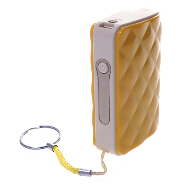 Внешний аккумулятор Harper PB-4401 Yellow 4400 mAh аккумулятор digicare hydra dc8 8000 mah black yellow pb hdc8y