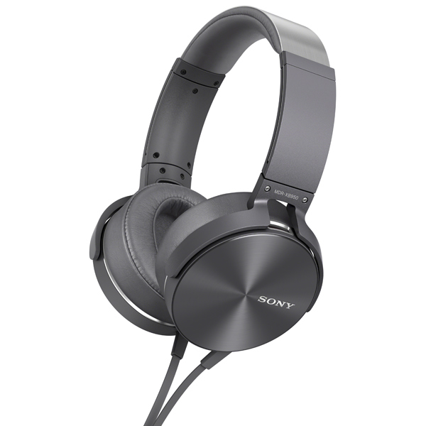 Купить Наушники полноразмерные Sony MDR-XB950AP Gray в каталоге ... cae2f62d9f5ea