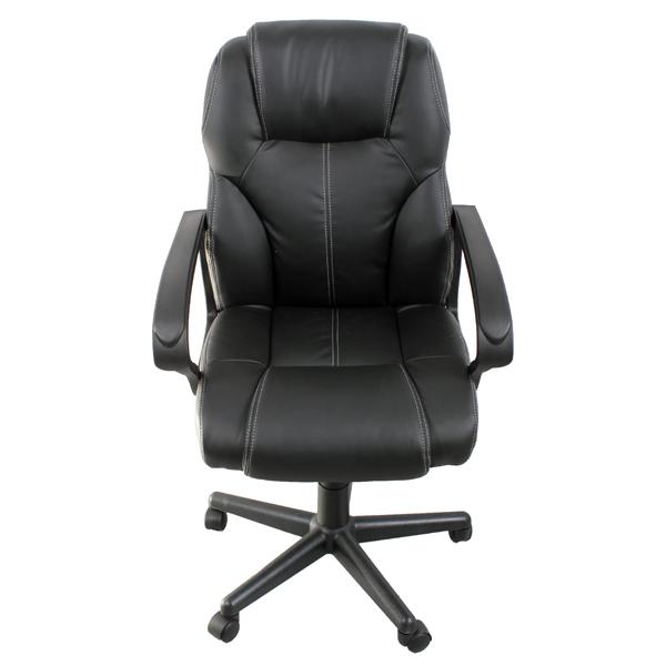 Кресло компьютерное College HLC-0601 Black сиденья водительское для ваз 2112