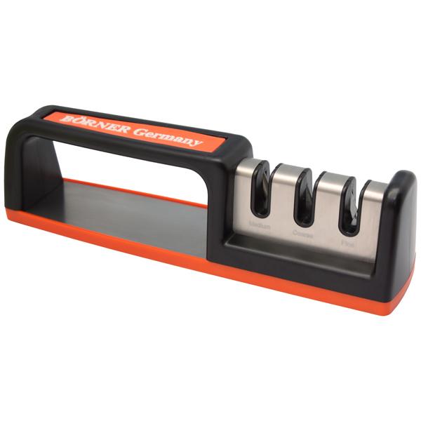 Ножеточка Borner Три зоны заточки borner набор классика orange
