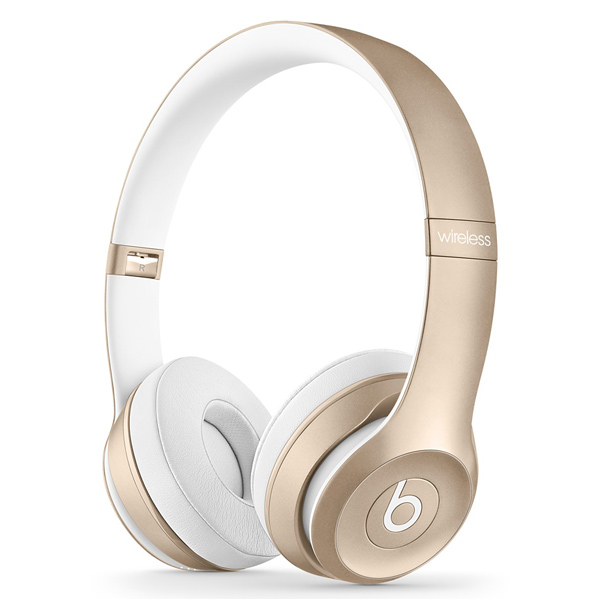 Наушники Bluetooth Beats Solo 2 Wireless Gold