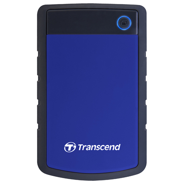 Внешний жесткий диск 2.5 Transcend StoreJet 25H3 1TB (TS1TSJ25H3B)