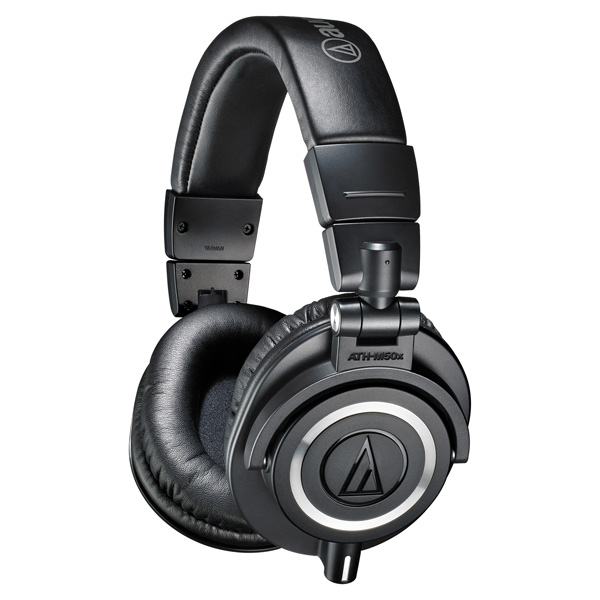 Наушники полноразмерные Audio-Technica ATH-M50X Black audio technica ath m50x black