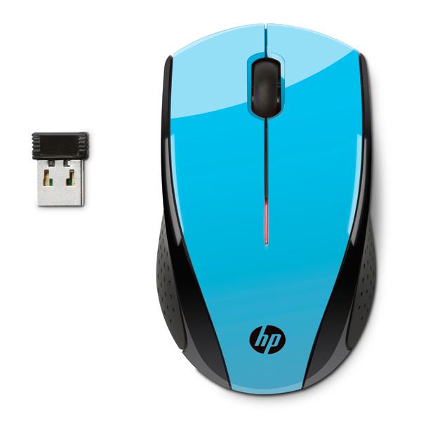 HP, Мышь беспроводная, X3000 Blue (K5D27AA)