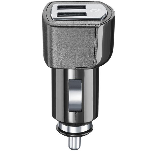 Автомобильное зарядное устройство Cellular Line 2 USB 4.2A (CBRUSBDUAL4AK )