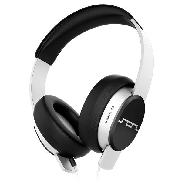 Наушники полноразмерные Sol Republic Master Tracks White (1601-32) sol republic tracks v8 on ear headphones blue