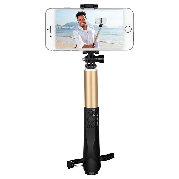 все цены на  Монопод для смартфона InterStep MP-125 Champagne 0.95m (IS-HD-MPSP125YL-BT0B201)  онлайн