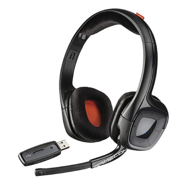Игровые наушники Plantronics GameCom 818 Black (203918-05) - характеристики, техническое описание в интернет-магазине М.Видео - Москва - Москва