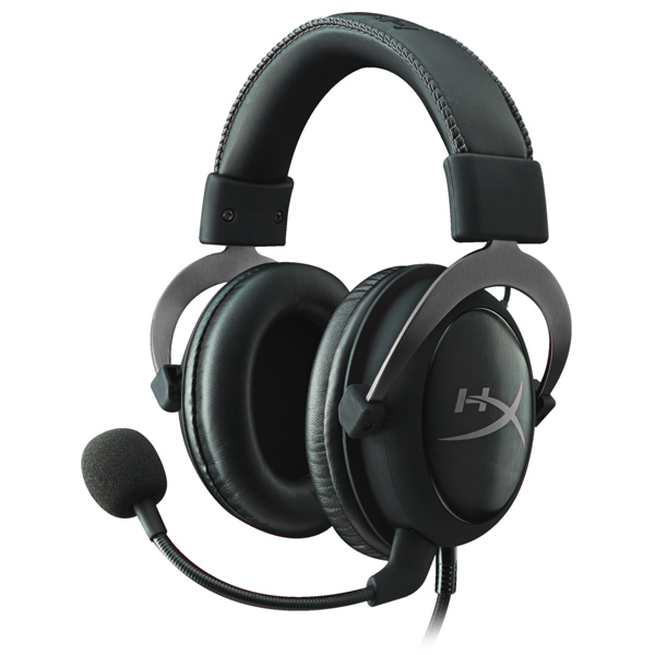 Игровые наушники Kingston HyperX Cloud II Gun Metal (KHX-HSCP-GM) штатив slik sprint mini ii gm