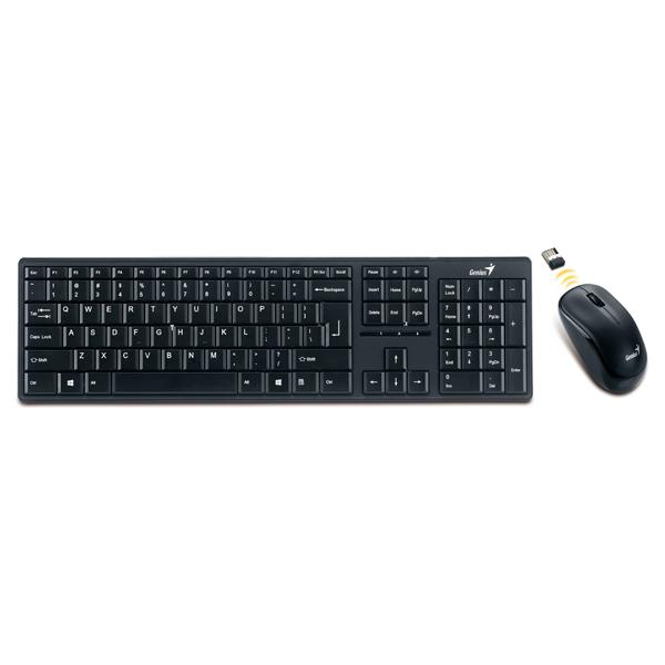 Комплект клавиатура+мышь Genius