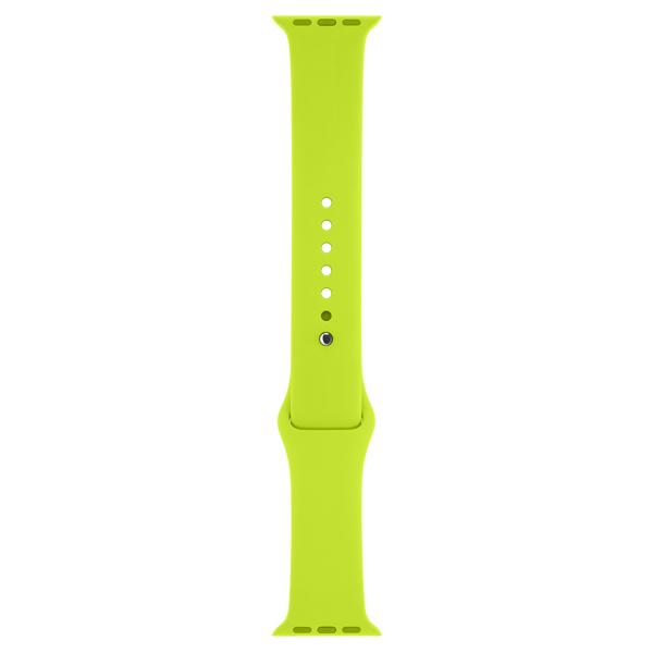 Ремешок Apple 42mm Green Sport Band (MJ4U2ZM/A) ремешок apple 42mm midnight blue sport band s m