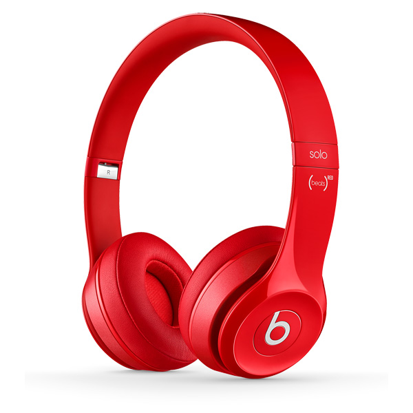 Наушники накладные Beats Solo 2 Red (MH8Y2ZM/A)