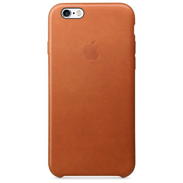 Чехол для iPhone Apple iPhone 6/6s Leather Case Saddle Brown чехол для iphone 6s plus apple leather case saddle brown золотисто коричневый mkxc2zm a