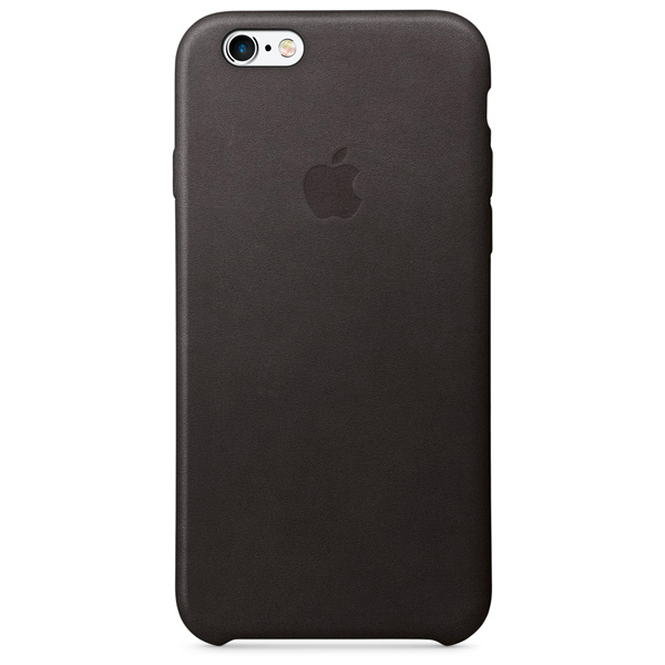 Чехол для iPhone Apple iPhone 6/6s Leather Case Black чехлы для телефонов boom case чехол для iphone 6 6s ананасы