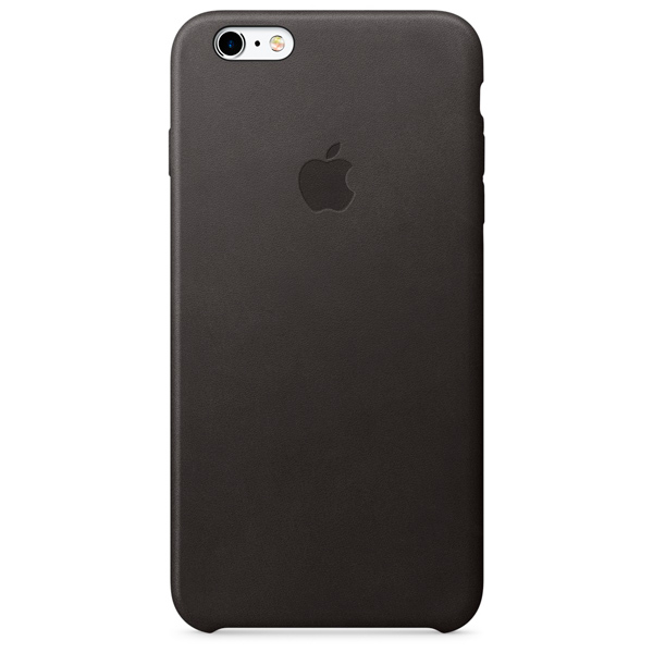 Чехол для iPhone Apple iPhone 6s Plus Leather Case Black чехол для смартфона apple для iphone 6s plus mkxf2zm a черный mkxf2zm a