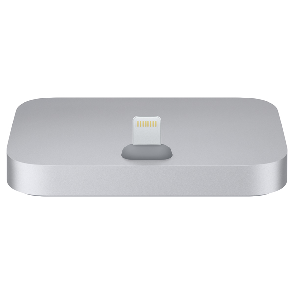 Док-станция для телефона Apple iPhone Lightning Dock Space Gray док станция sigma usb lens dock for sony