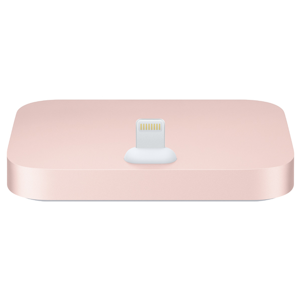 Док-станция для телефона Apple iPhone Lightning Dock Rose Gold док станция sigma usb lens dock for sony