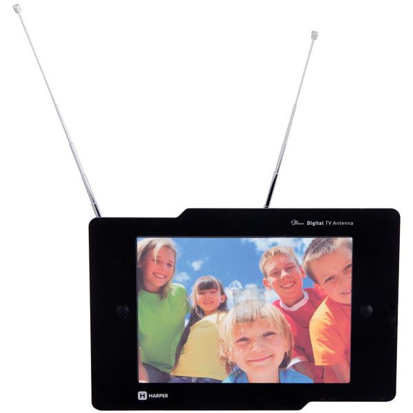 Антенна телевизионная комнатная Harper ADVB-1202F антенны телевизионные ritmix антенна телевизионная