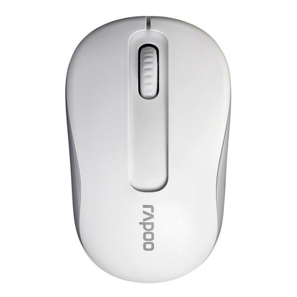 Мышь беспроводная Rapoo M10 White мышь rapoo n1162 белый