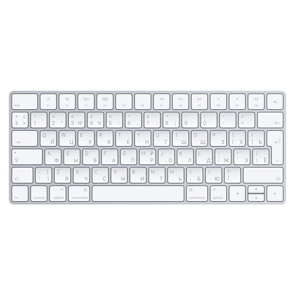Клавиатура беспроводная Apple Magic Keyboard (MLA22RU/A) apple mla22ru a magic keyboard white bluetooth