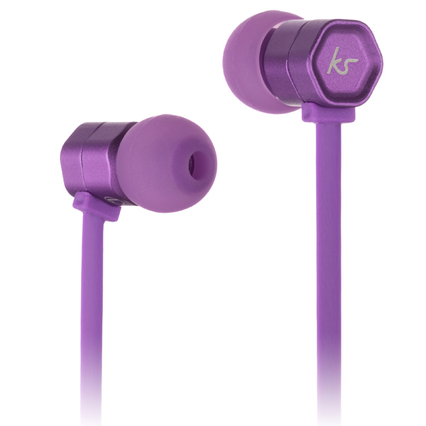 Наушники внутриканальные Kitsound Hive Purple (KSHIVBPU) kitsound boom evolution black