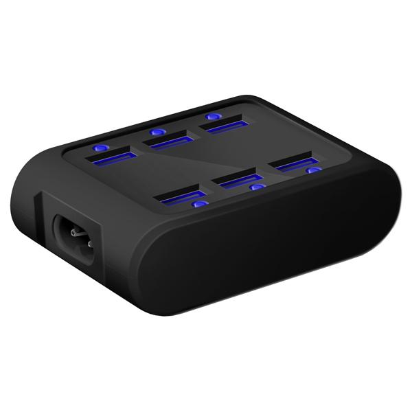 Сетевое зарядное устройство iconBIT 6 USB 4.2A (FTB SIX) сетевое зарядное устройство usb elari power port pe c06 на 6 usb портов
