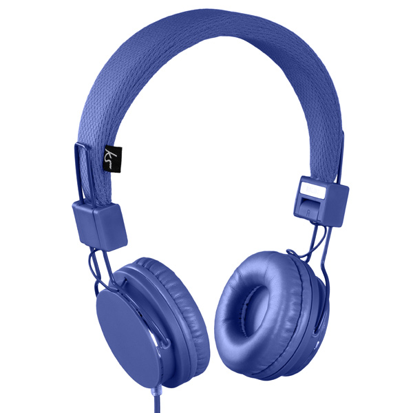Kitsound, Наушники накладные, Malibu Blue (KSMALIBL)