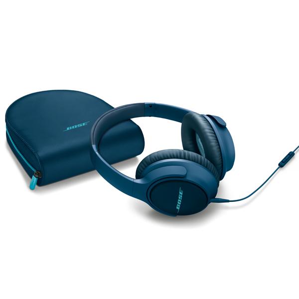 Наушники полноразмерные Bose SoundTrue Around-Ear II Navy Blue to Android bose soundtrue around ear ii charcoal black to apple