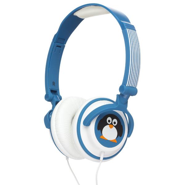 Kitsound, Наушники накладные, My Doodles Penguin Blue (DDPENHP)