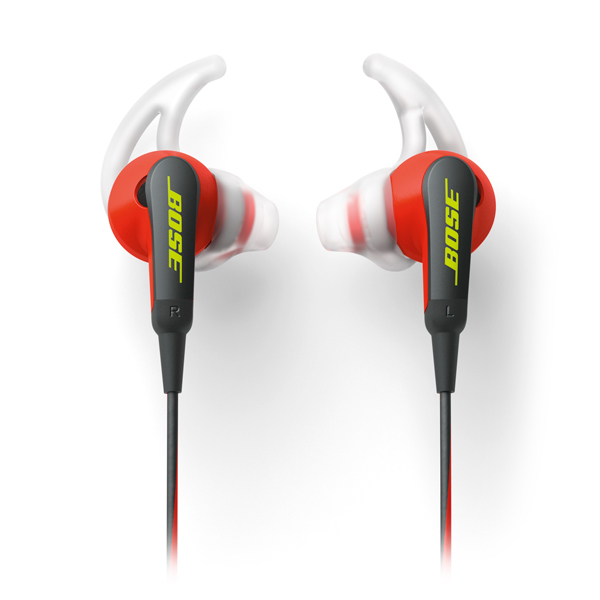 Спортивные наушники Bose SoundSport In-Ear Power Red to Apple