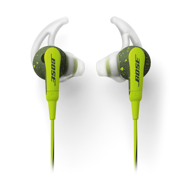 Спортивные наушники Bose SoundSport In-Ear Energy Green to Apple