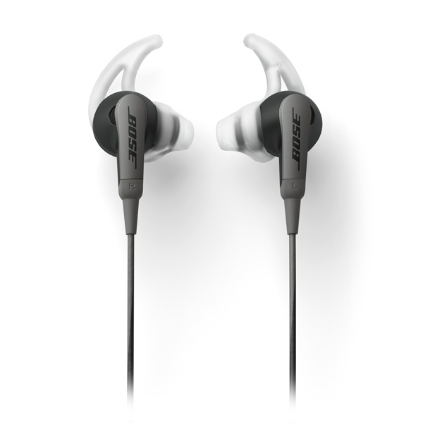 Спортивные наушники Bose SoundSport In-Ear Charcoal Black to Android